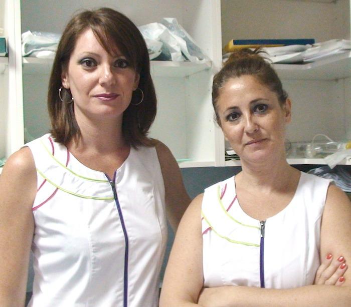 Mariluz y Gloria