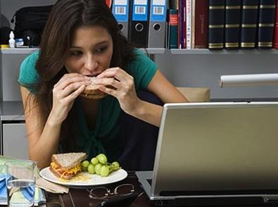 Comer rápido favorece la aerogafia