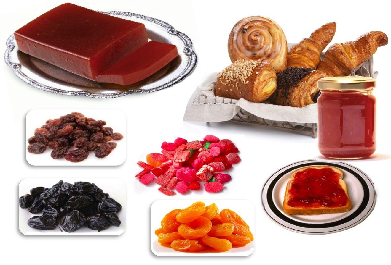 dieta intolerancia fructosa y sorbitol